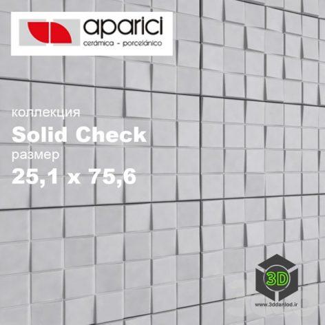 плитка Aparich Solid Check(3ddanlod.ir)