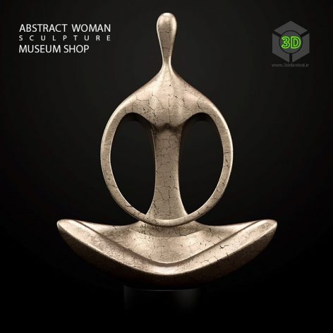 Abstract Woman Sculpture(3ddanlod.ir) 148