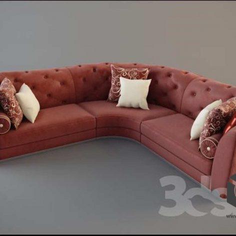 Albert&Shtein - Dante sofa(3ddanlod.ir)
