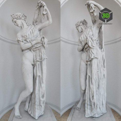 Aphrodite Kallipygos(3ddanlod.ir) 141