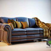 Ashley sofa(3ddanlod.ir)