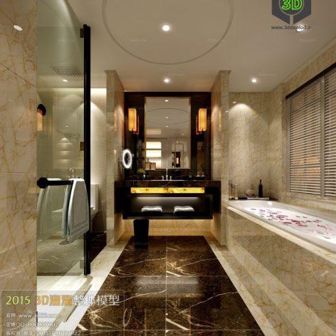 Bathroom 3D66 Interior 003(3ddanlod.ir)