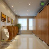 Bathroom 3D66 Interior 004(3ddanlod.ir)