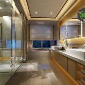 Bathroom 3D66 Interior 006(3ddanlod.ir)