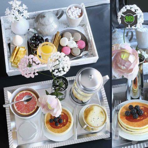 Breakfast Tray(3ddanlod.ir) 293