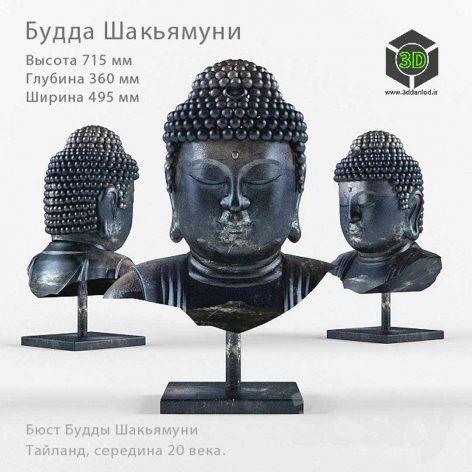 Bust of The Buddha(3ddanlod.ir) 018