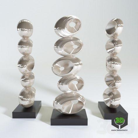 Ceramic Abstract Figurine (3ddanlod.ir)
