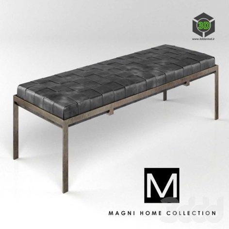 Classic museum bench by MagniHome3ddanlod.ir  472x472 - دانلود مدل سه بعدی نیمکت پست مدرن 033