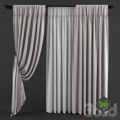 classic Curtains silver (3ddanlod.ir)