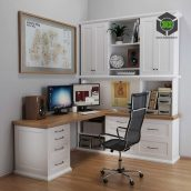 Desktop in White(3ddanlod.ir) 031