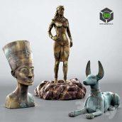 Egypt statue(3ddanlod.ir) 017