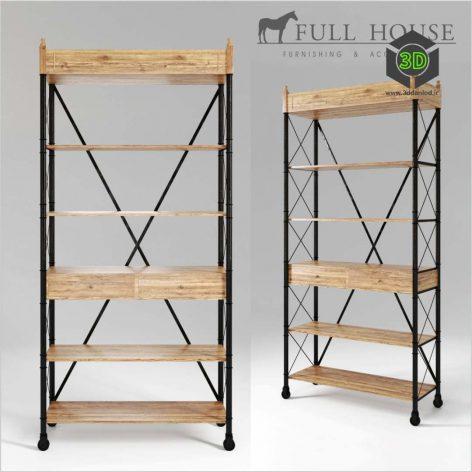 FULL HOUSE Rack 1BCBG009(3ddanlod.ir) 010