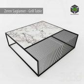 Grill Table by Zeren Saglamer(3ddanlod.ir)