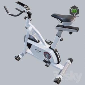 Kettler Exercise Bike top view(3ddanlod.ir) 019