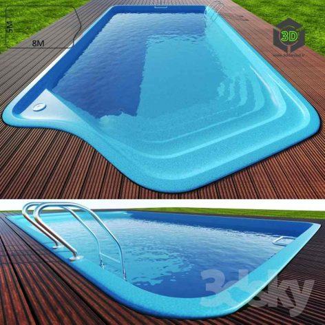 Swimming Pool 2 curve(3ddanlod.ir) 004