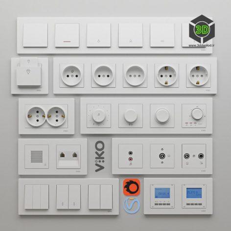 Viko Karre electrices(3ddanlod.ir) 005
