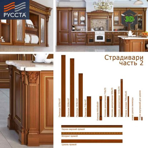 clasiic kitchen cabinet design 083(3ddanlod.ir)