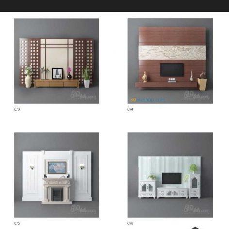 0019 TV & Media Furniture 65-114(3ddanlod.ir)