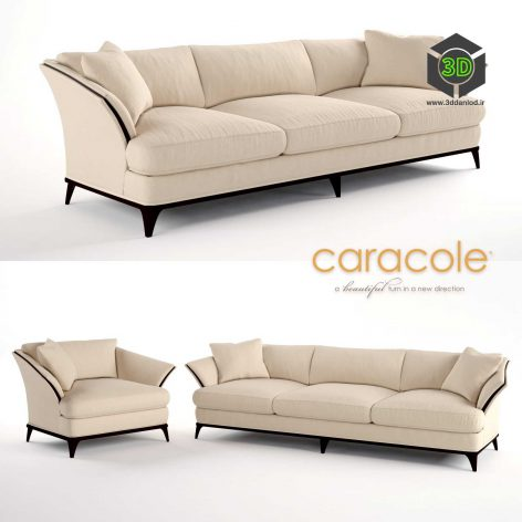 A SIMPLE LIFE Chair and Sofa by Caracole(3ddanlod.ir) 820