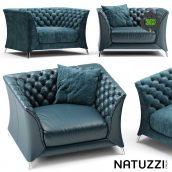 Armchair Natuzzi La Scala Chair(3ddanlod.ir) 333