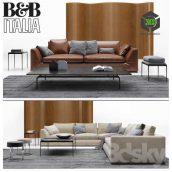 B & B Italia Sofa Richard(3ddanlod.ir) 174