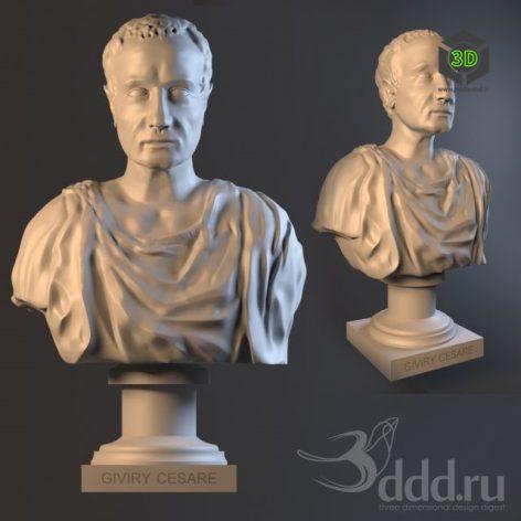 Bust-Cesare_Sculpture_Statue (3ddanlod.ir)