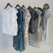 Clothes on Hangers(3ddanlod.ir) 076