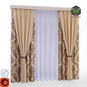 Curtain Blinds(3ddanlod.ir) 018