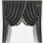 Curtains Classic BW(3ddanlod.ir) 037