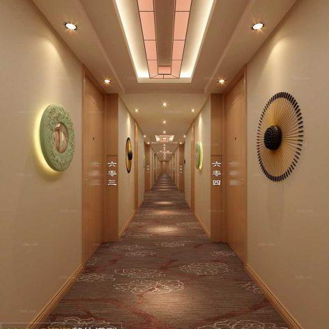 coridor interior 011 (3ddanlod.ir)