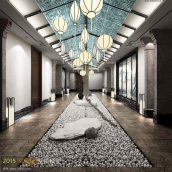 coridor interior 012 (3ddanlod.ir)