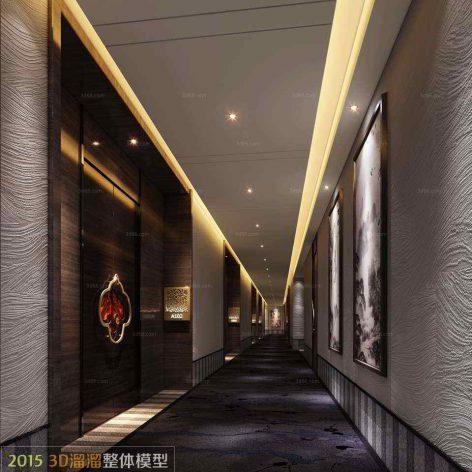 coridor interior 029 (3ddanlod.ir)