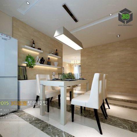 dinning room design 009 (3ddanlod.ir)