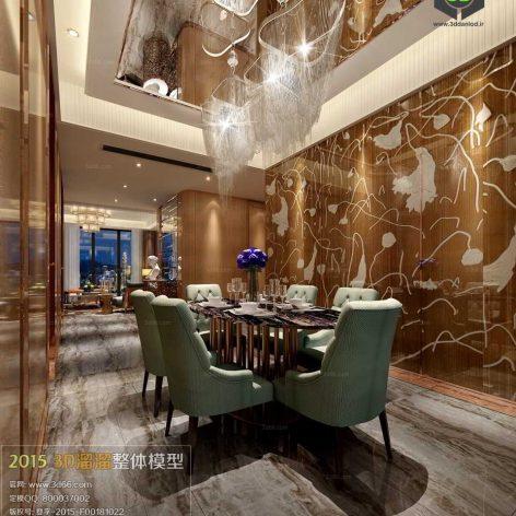 dinning room design 015 (3ddanlod.ir)