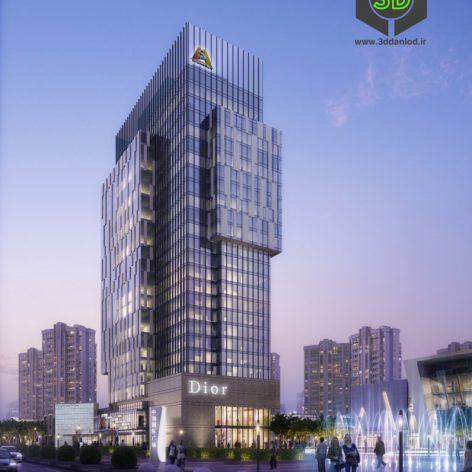 dior commercial building dior (3ddanlod.ir) 018