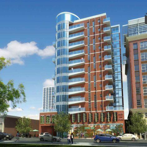 residential building 001 facade view(3ddanlod.ir) 026