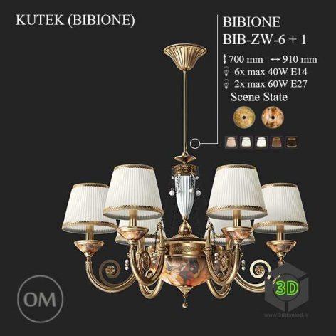 chandelier light model 006 (3ddanlod.ir)