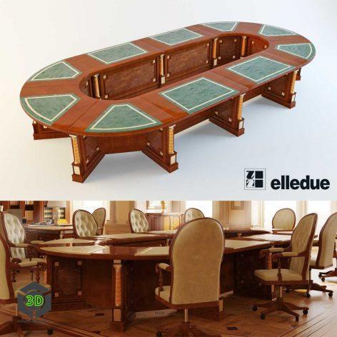 round meeting table 002 (3ddanlod.ir)