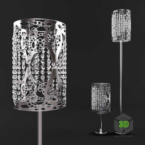 glass desk lamp 005(3ddanlod.ir)