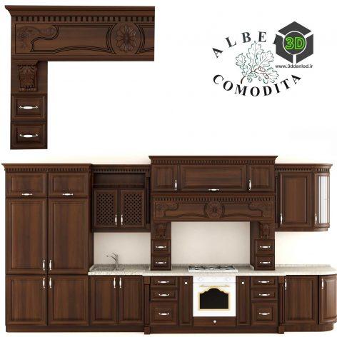 classic kitchen comodita (3ddanlod.ir) 006