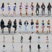 3D Model people 002 (3ddanlod.ir)