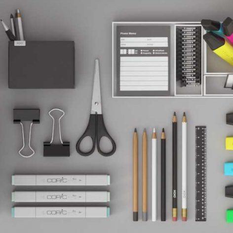 3D Models of Office Gargets(3ddanlod.ir)