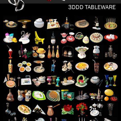 3DDD Tableware(3ddanlod.ir)_001
