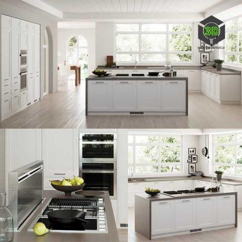 white kitchen island (3ddanlod.ir) 041