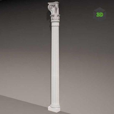 Antique Pilaster (3ddanlod.ir) 056