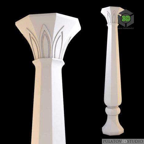 دانلود مدل سه بعدی گچبری سقف 029
