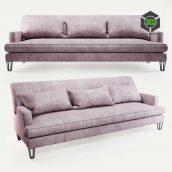 Baker Almandine Sofa(3ddanlod.ir) 237