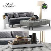 Baker Celestite Sofa(3ddanlod.ir) 289