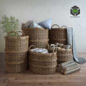 Basket with Handles(3ddanlod.ir) 013