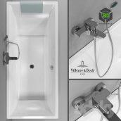 Bathtub Villeroy & Boch Squaro(3ddanlod.ir) 020